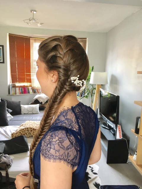 Bridesmaid Fish tail plait